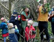 Join the Queen and King of Wassail in Brockwell Park