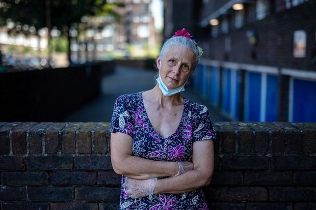 The volunteers of Brixton People's Kitchen - in photos, June 2020