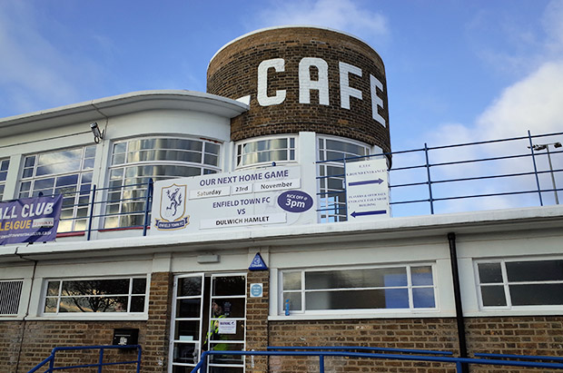 dulwich hamlet triumph at the art deco splendidness of enfield town