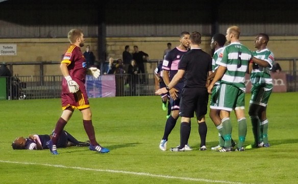 Dulwich Hamlet comfortably see off Thamesmead Town in Robert