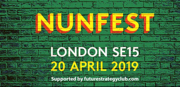 Bands galore at the free Nunfest music festival on Saturday 20th
