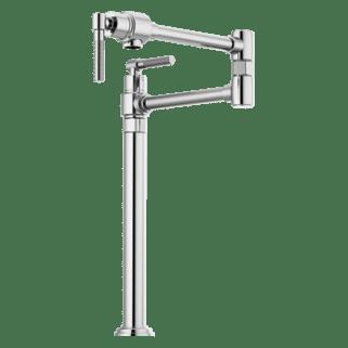 litze bar faucet with arc spout and