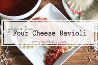 Gluten Free Four Cheese Ravioli