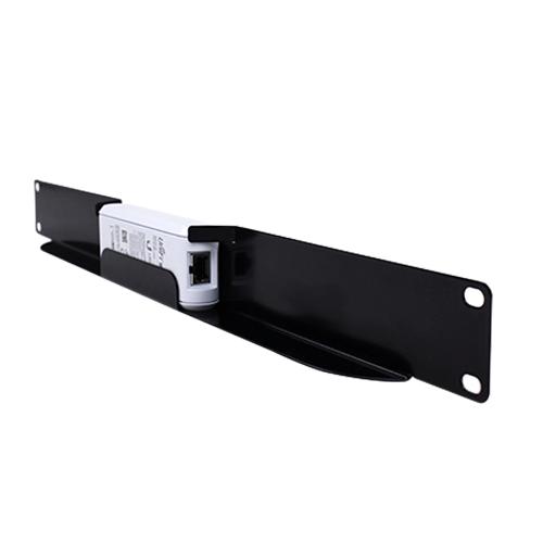 esscable esrm uck1 1u rackmount bracket shelf for ubiquiti unifi cloud key black