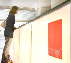 Orange reception