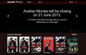Acetrax close down