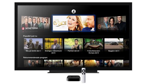 TV4 Play Apple TV