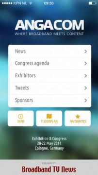 ANGA COM 2014 app