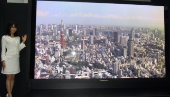 Sharp launches 8K TV as precursor to new NHK channel