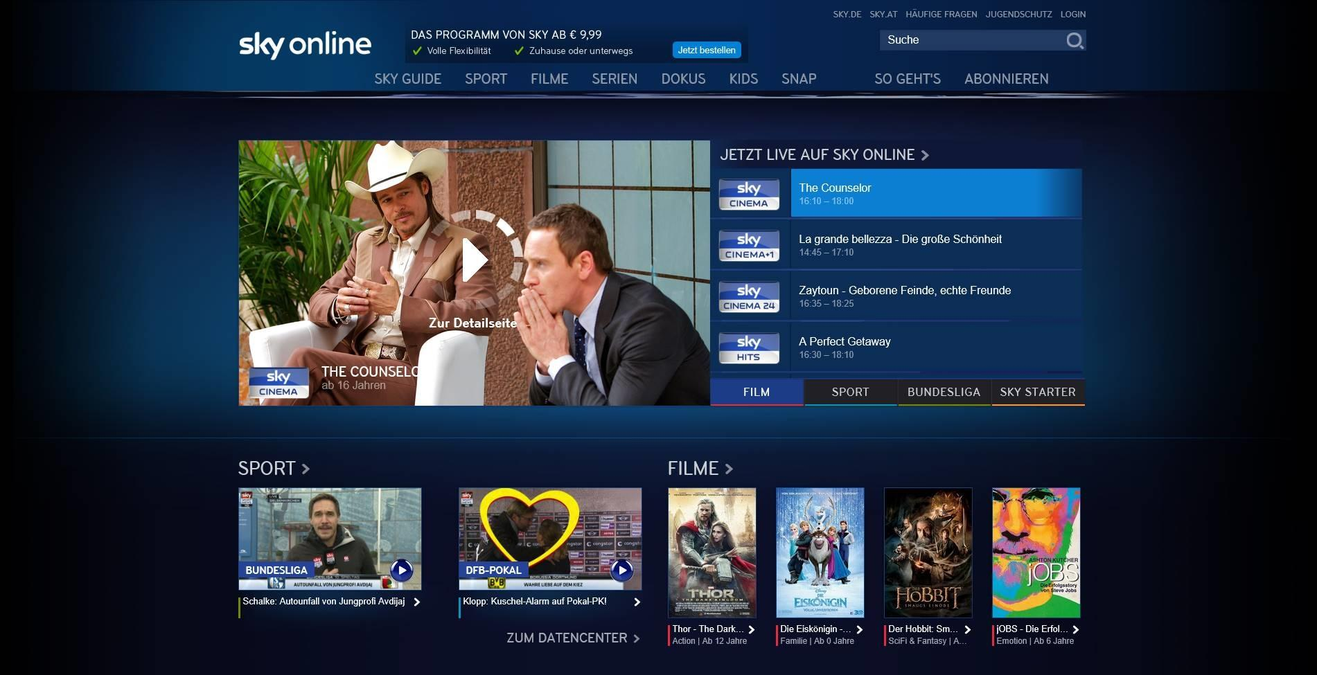 OTT News: Sky Deutschland Launches OTT Platform