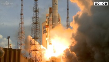 Ariane 5 delivers T-16 and Eutelsat 7C to geostationary transfer