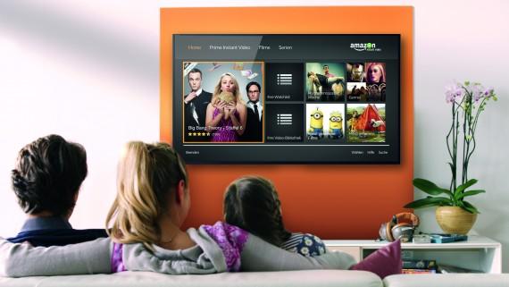 Amazon Instant Video Living Room
