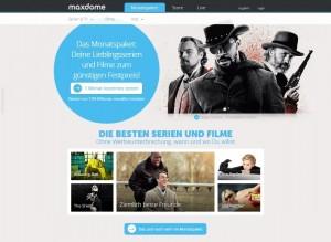maxdome screenshot 2015