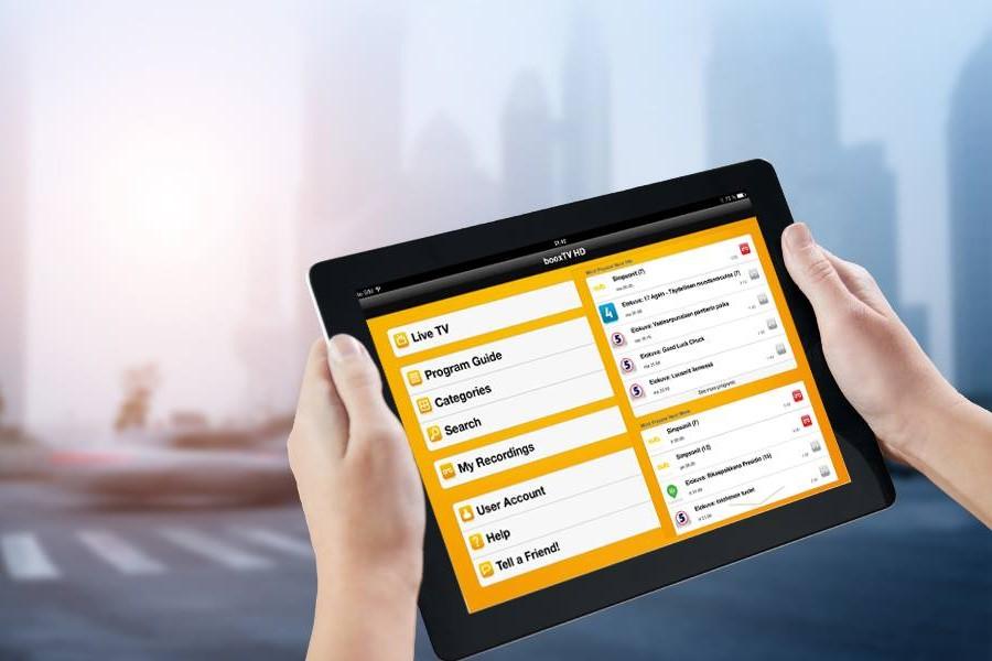 Booxmedia Tablet
