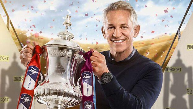 BBC presenter, the former England captain, Gary Lineker