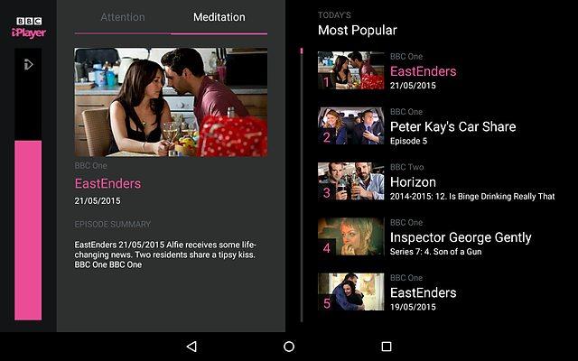 BBC experimental app
