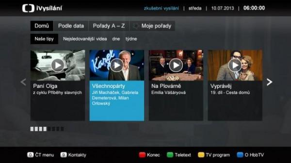 Czech HbbTV