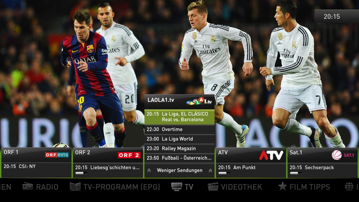 LAOLA1.tv to launch on Telekom Austria's A1 TV