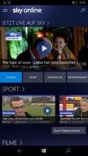 Sky Online Windows 10 Mobile
