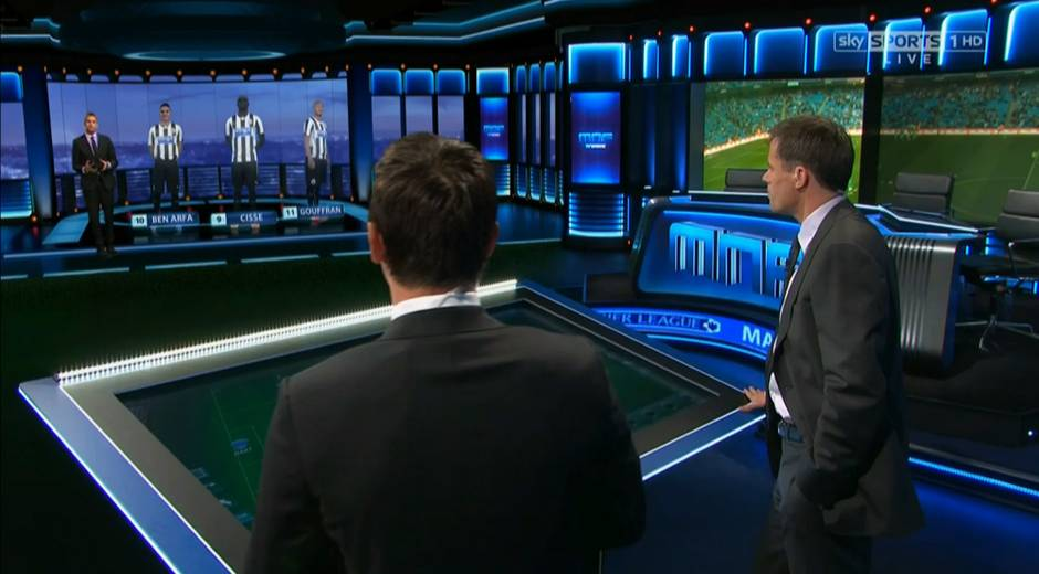 Sky Sports Monday Night Football studio