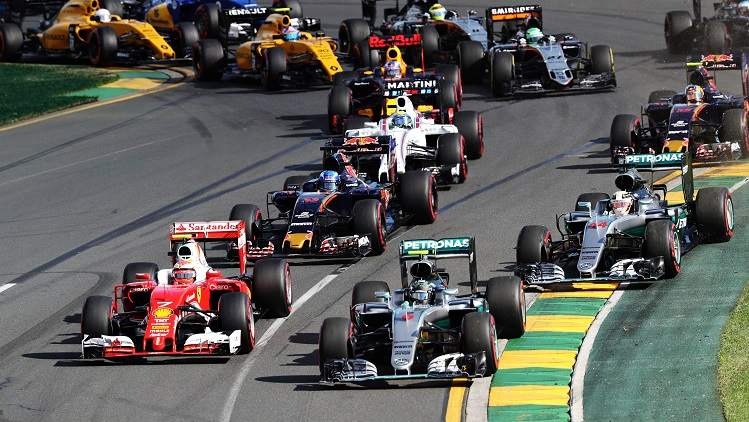 during the Australian Formula One Grand Prix at Albert Park on March 20, 2016 in Melbourne, Australia.