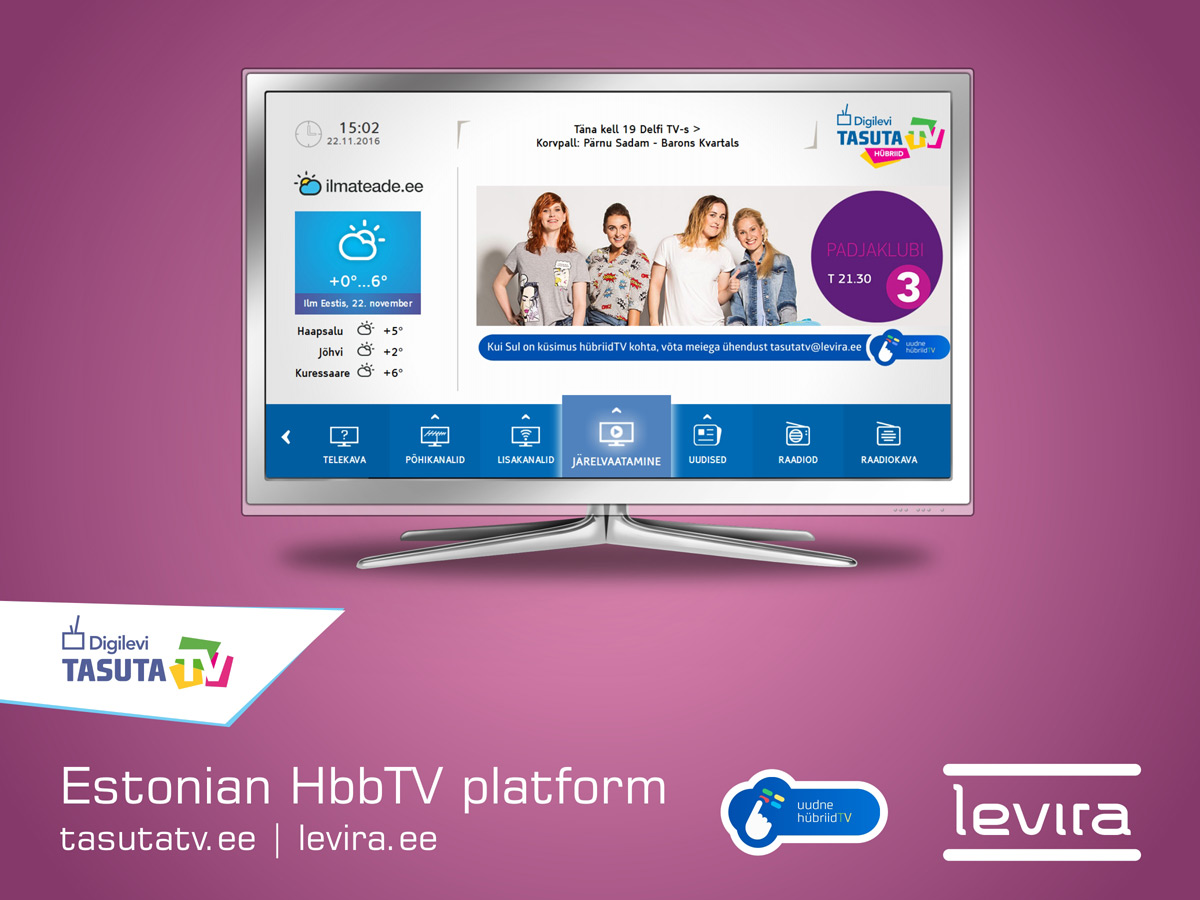 Levira HbbTV