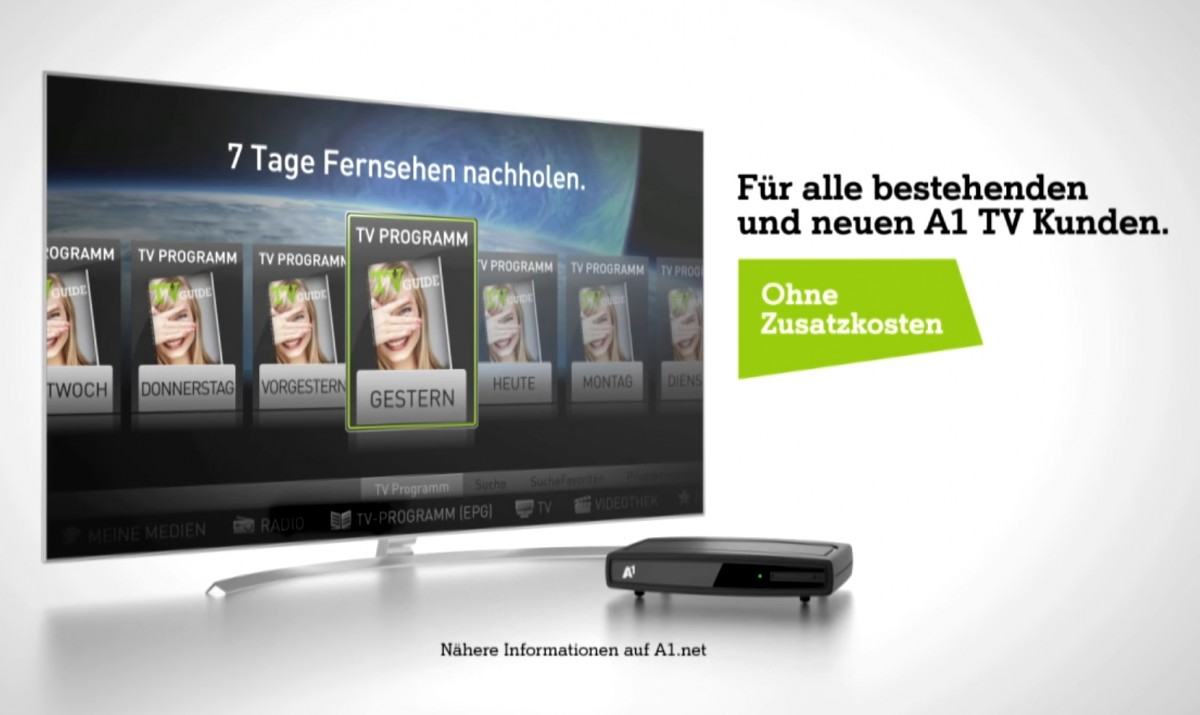 A1 Telekom Austria launches cloud-based PVR