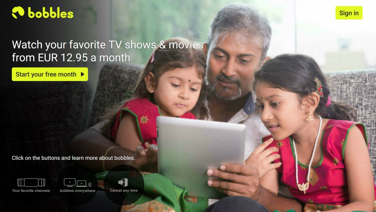 Bobbles tv launches DTH/OTT package for Indian expats in Europe