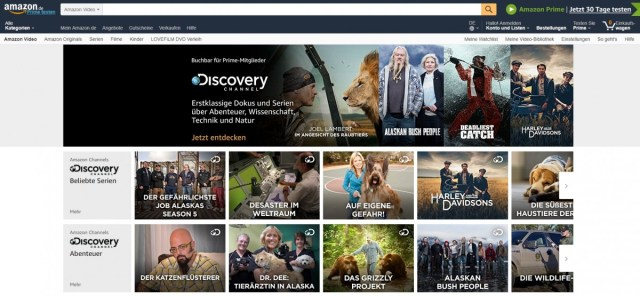 Discovery Channel joins Amazon Channels in Germany