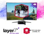 Insight TV launches 4K UHD on Layer3 TV