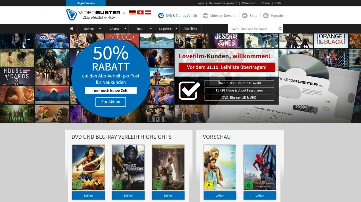 lovefilm video demand