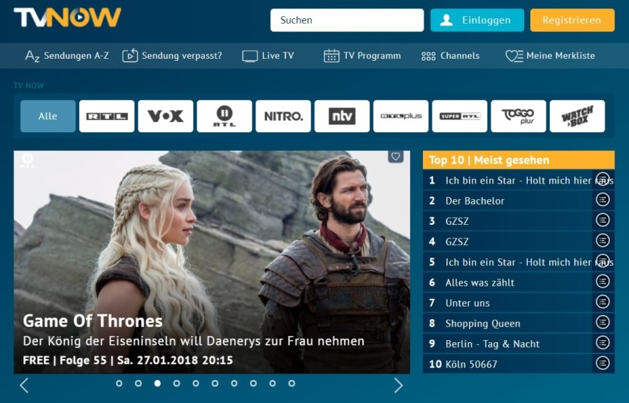 RTL to launch free-to-air channel for US series in Germany