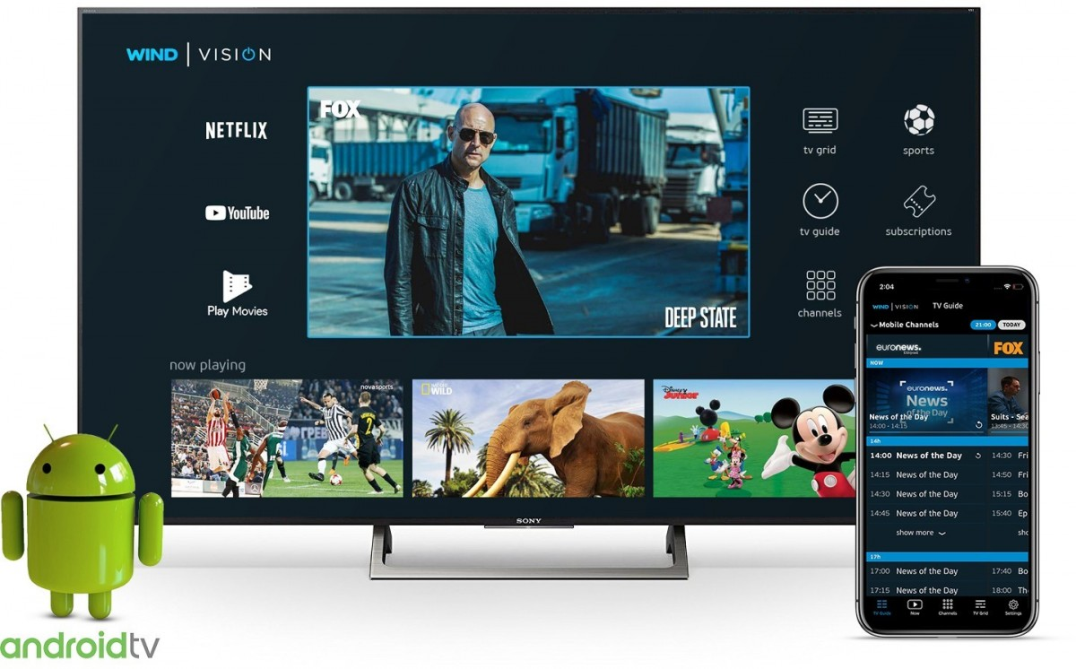 Android TV service with Netflix debuts in Greece