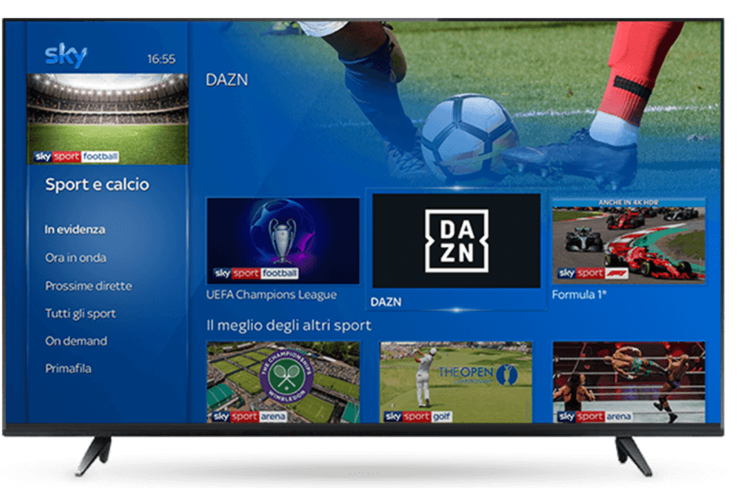 can you download dazn on samsung smart tv