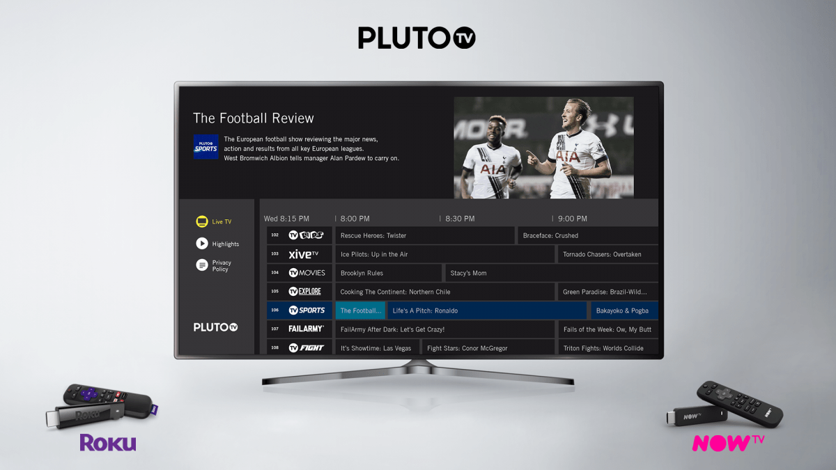 Pluto Tv Launches On Uk Roku Players