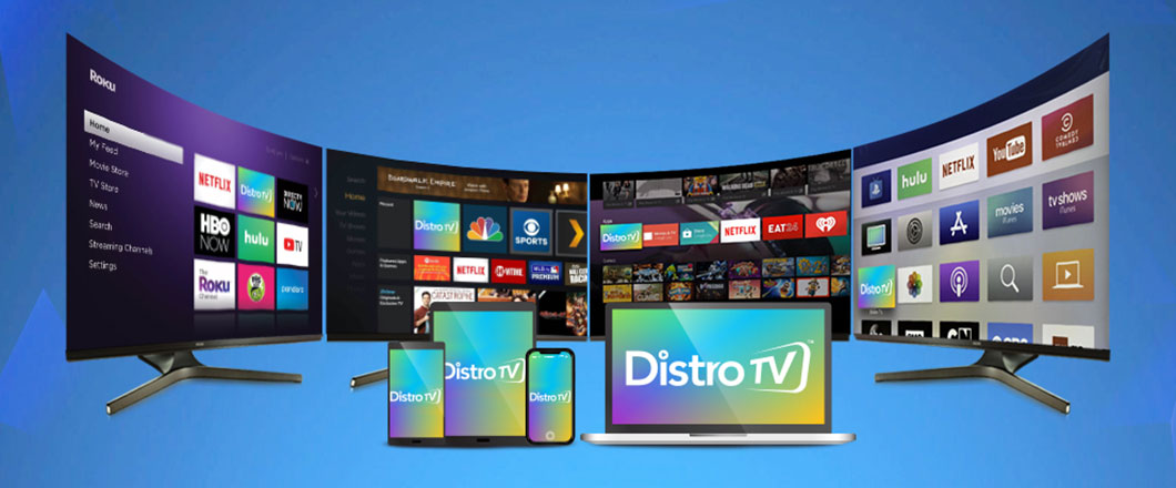 Free linear and VOD OTT service DistroTV launching