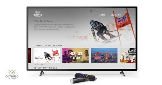Olympic Channel comes to Roku streaming players