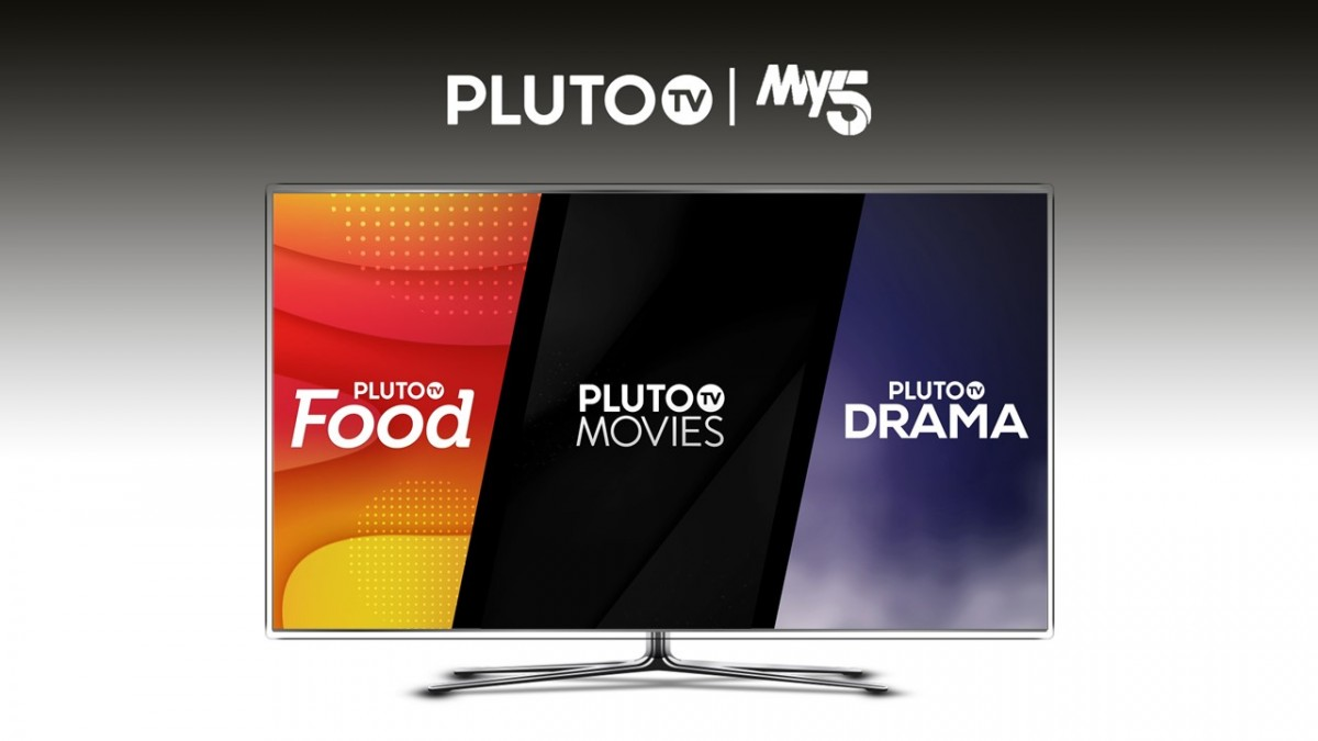 My5 to distribute Pluto TV channels