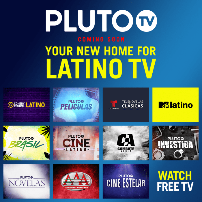 Pluto TV Latino launches in the US
