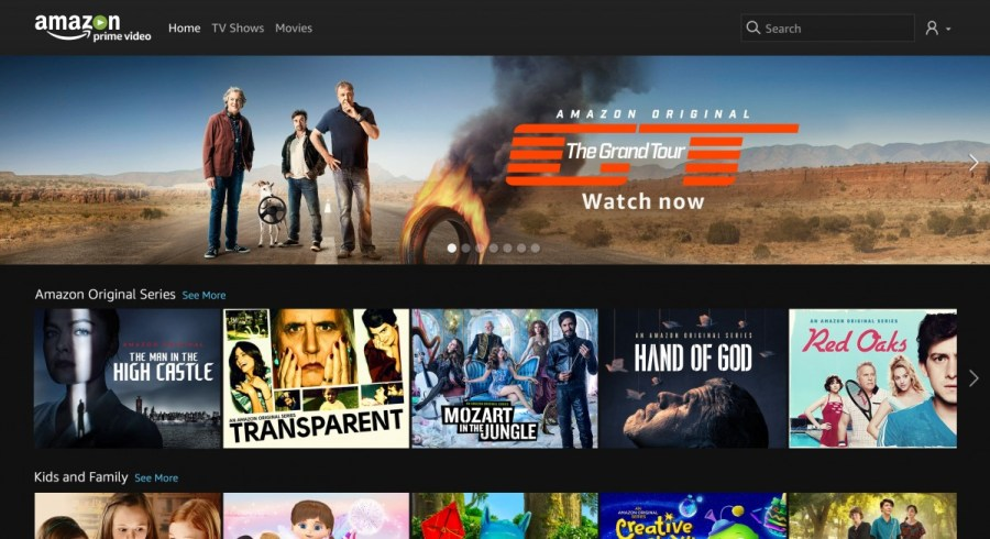 Amazon Prime Video Launches In The Benelux