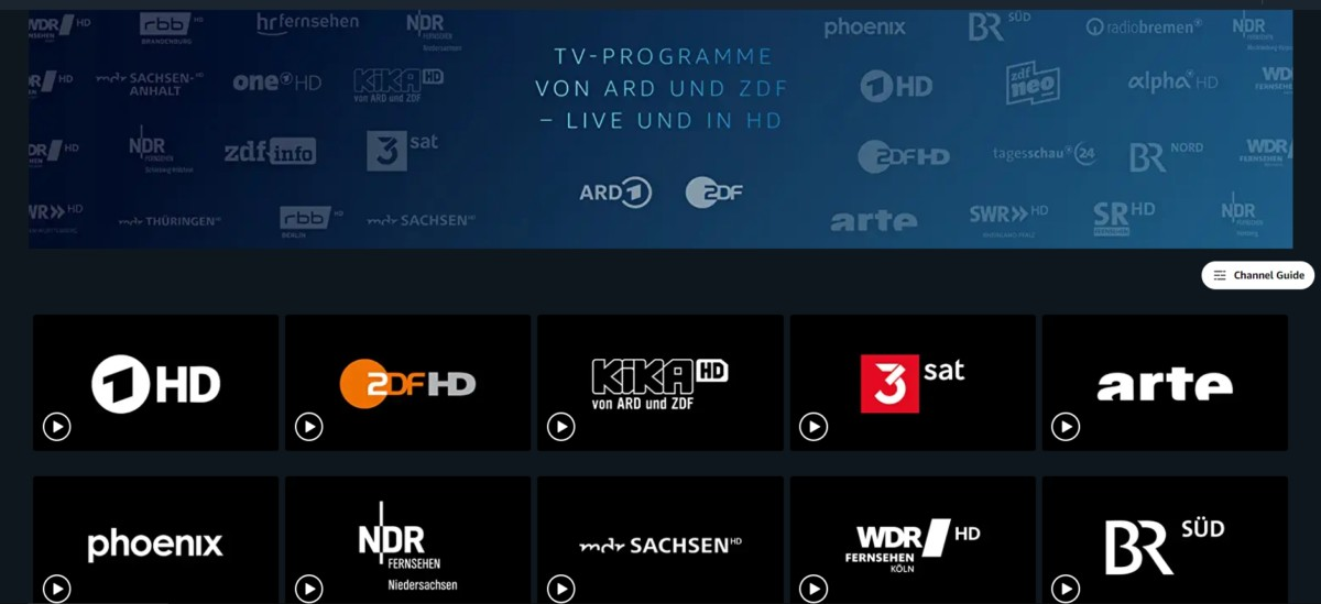 Amazon launches 'free' live TV package in Germany