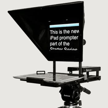 Autocue Starter Series iPad Teleprompter