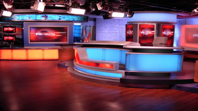 Network 18 Set Design Talk Shows Broadcast Design