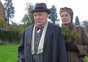 Albert Finney as Churchill in The Gathering Storm