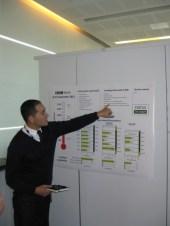 "BBC PR man Sao Bui-Van points to the ""migration chart """