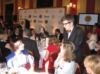 Gareth Malone conducts pudding for his Military Wives