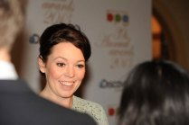 Actress Olivia Colman, attending for Twenty Twelve, winner of Best Comedy Entertaimment