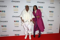Gogglebox stars Sandy Channer and Sandra Martin on the Red Carpet