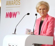 Mary Berry on stage