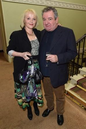 Miranda Richardson and Ken Stott